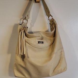Onna Ehrlich Classy Leather Hobo Handbag